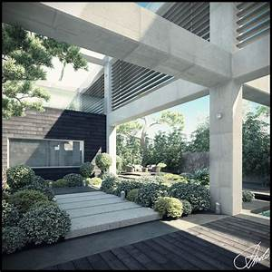 Garden, Landscape, Design, Inspiration