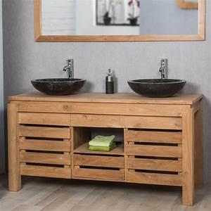 le plan de travail ideal pour votre salle de bain With meuble salle de bain en plan de travail