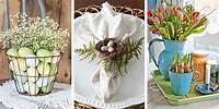 easter decorating ideas 40 Beautiful Easter Decoration Ideas - Easter Wreaths ...