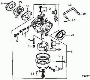 honda small engine carburetor diagram automotive parts With honda carb diagram