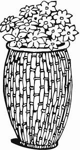 Coloring Vase Vases Pottery Adult Printable Colorpagesformom Adults Mandala Templates sketch template