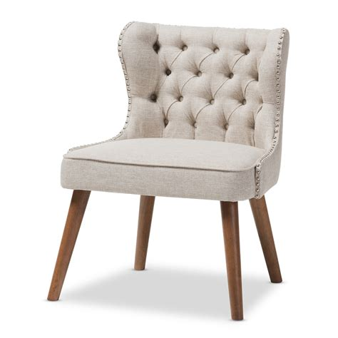 baxton studio tufted accent chair