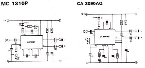 Stereo Decoder Electronic Circuit Diagram Layout