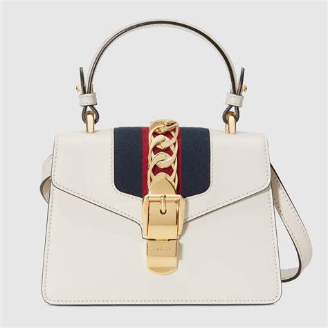sylvie leather mini bag gucci womens handbags