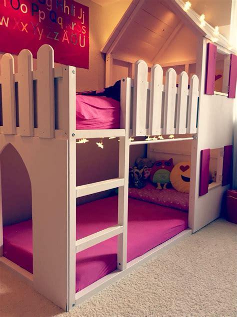 Mädchen Bett Ikea by Ikea Kura Umbau Kinderzimmer Hochbett