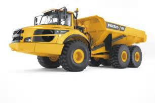 Volvo Articulated Dump Truck volvo a35g specifications technical data 2015 2018