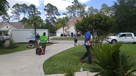 residential lawn services brunswick ga