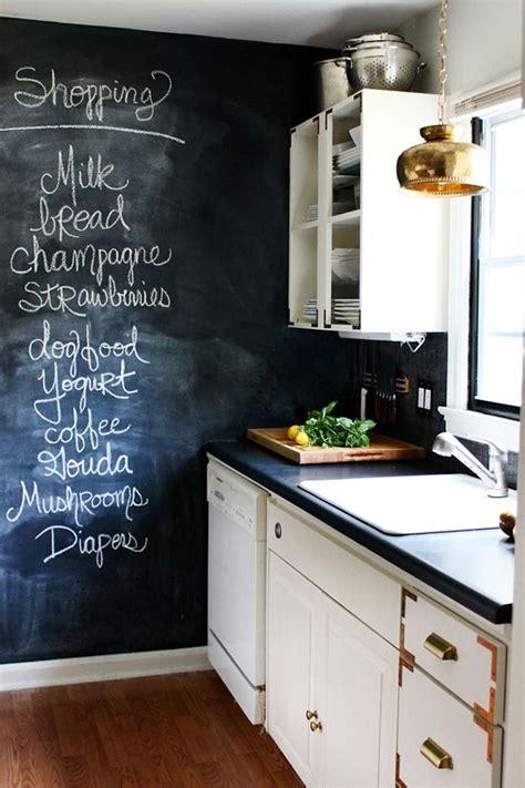 chalkboard paint ideas kitchen chalkboard wall ideas a named pj