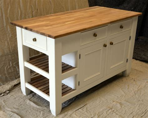 kitchen island handmade solid wood painted ebay