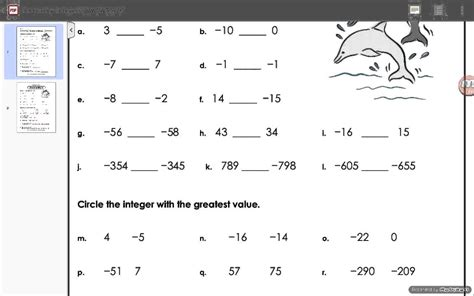 integers worksheets grade   oaklandeffect th grade math worksheets integers worksheets for all