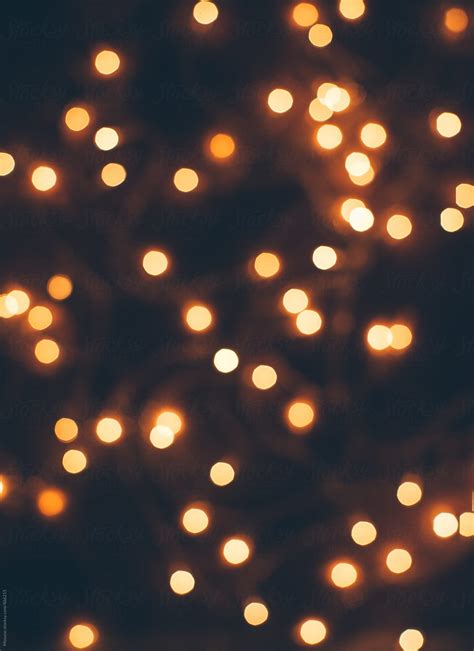 blurred christmas lights background stocksy united