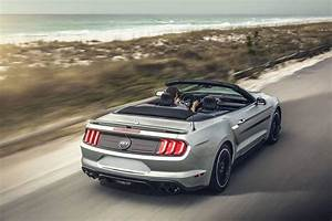 2020 Ford Mustang Convertible Rear