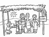 Poor Feeding Clip Illustrations Vector Missionaries Similar sketch template