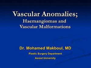 Arteriovenous Malformation Ppt