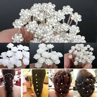 20pc/40pc Fashion New Wedding Bridal Pearl Flower Crystal