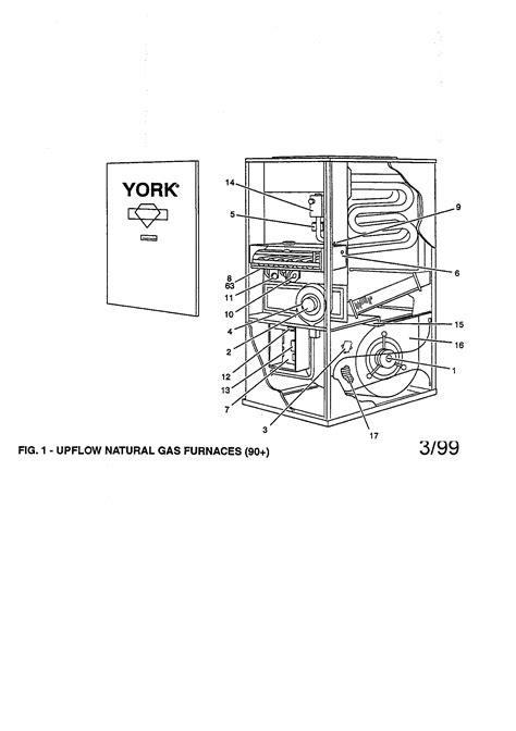 york model purbnb furnaceheater gas genuine parts