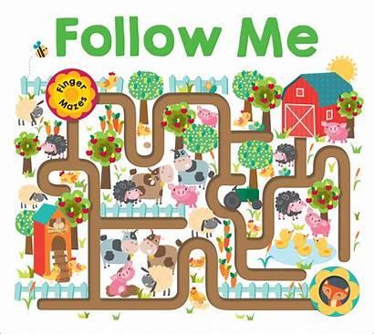 Maze Follow Finger Mazes Priddy Board Roger