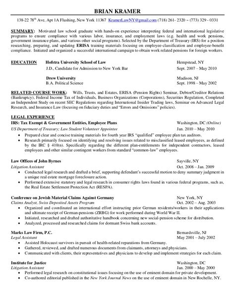 Resume Bar Admission by Functional Resume Format For Lawyer Functional Resume