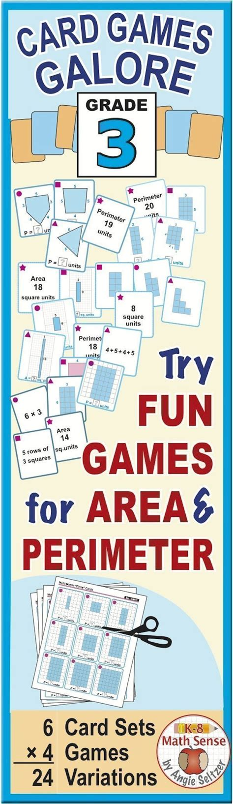 15 Best Images About Area And Perimeter On Pinterest  The Area, Activities And 4th Grade Math