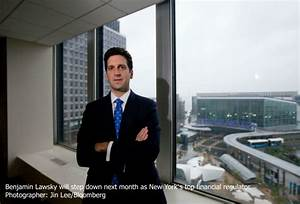Lawsky to Step Down as New York's Top Financial Regulator ...