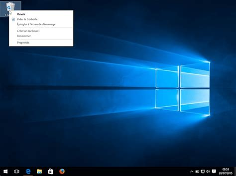 comment vider la corbeille sur windows 10
