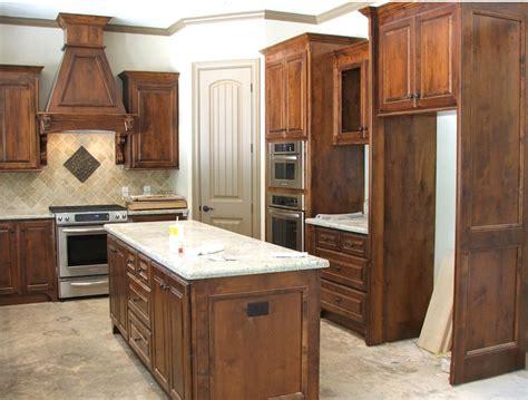 knotty alder kitchen cabinets knotty alder kitchen cabinets home at last pinterest