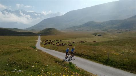 cycling iseran vanoise national park maurienne