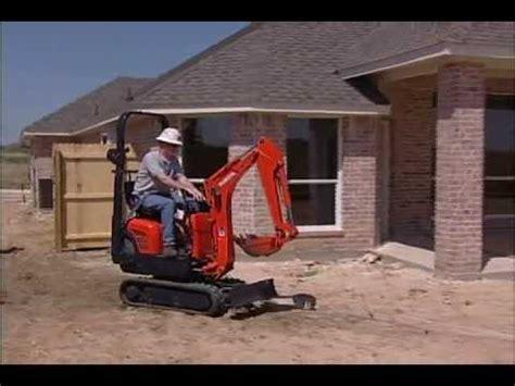 kubota  mini excavator   rent  compact power equipment centers youtube