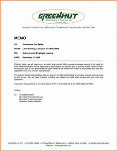 standard memo formatsample memo formatjpg sales report With template for writing a memo