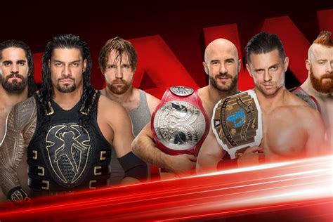 shields reunion match  finally happening  raw