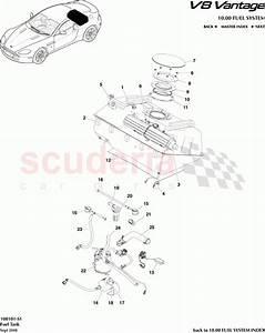 Aston Martin V8 Vantage Fuel Tank Parts