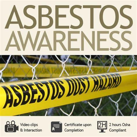 hour asbestos awareness training  haztrainer