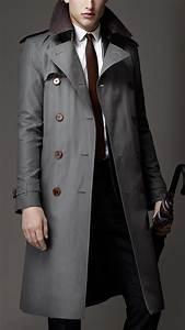 Trench Coat Burberry Homme : 17 best images about trench coat men 39 s fashion on pinterest classic style navy blazers and ~ Melissatoandfro.com Idées de Décoration