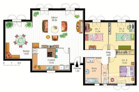 chambre pour deux enfants villa provençale dé du plan de villa provençale