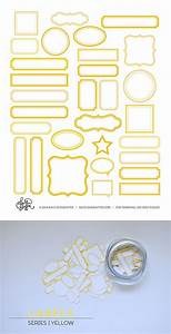best 25 label printing ideas on pinterest free With kitchen colors with white cabinets with silhouette printable clear sticker paper