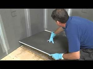 Installer une douche italienne sur plancher bois ou à l'étage