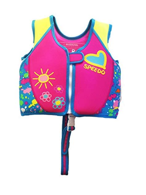 speedo uv neoprene swim vest kids  warmth  uv