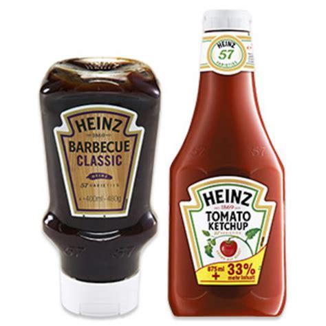 Heinz Barbecue Sauce 400 ml oder Heinz Tomato Ketchup + 33 ...