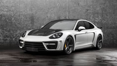 porsche car panamera 2018 porsche panamera stingray gtr by topcar review top