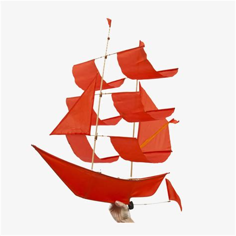 Sailing Boat With Kite by Sailing Ship Kite Flame
