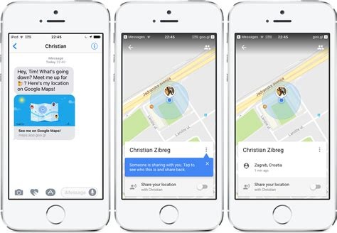 how to your location on iphone how to your real time location on maps