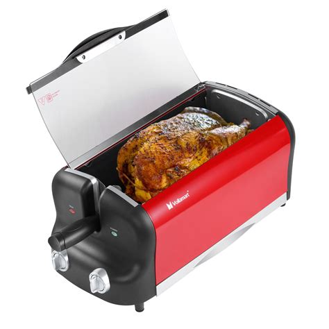 rotisserie electric fryer air oven convection cooker multifunction digital lcd kit