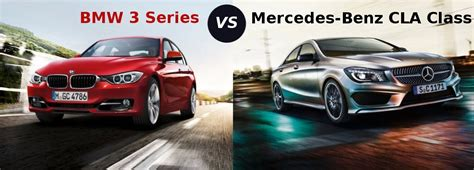 Compare Mercedes-benz Cla-class Vs Bmw 3 Series Sedan