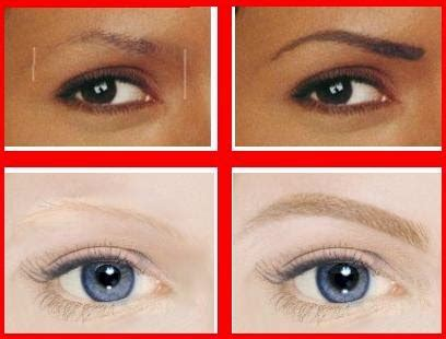 Coloring Eyebrows by Coloring Eyebrows How To Do It