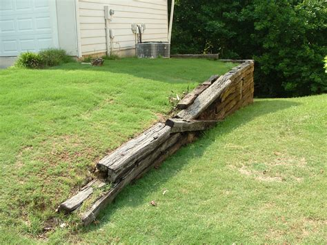 Why We Don't Use Railroad Ties In Our Landscaping Bailey