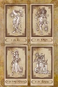 tarot card inspiration digital illustration summer 2016