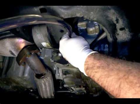 saturn astra auto transmission flush drain hose setup