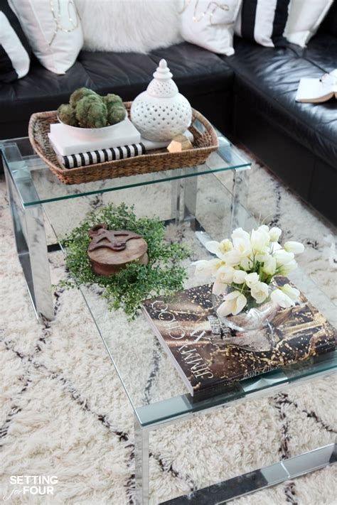 decorating a coffee table 5 tips to decorate accent tables like a pro setting for four