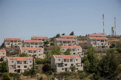Defense Minister Okays 296 Homes In West Bank Settlement