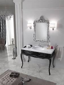 Miroir Baroque Noir : salle de bain baroque 26 id es de meubles extraordinaires ~ Teatrodelosmanantiales.com Idées de Décoration
